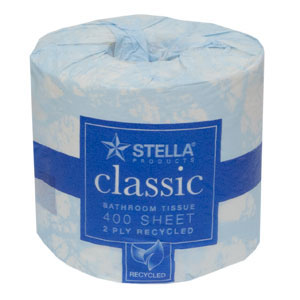 Toilet Tissue 2 ply 400 Sheet